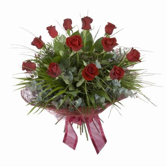 Etkileyici buket 11 adet kirmizi gül buketi  Sakarya güvenli kaliteli hızlı çiçek