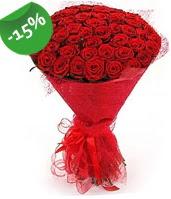 51 adet kırmızı gül buketi özel hissedenlere  Sakarya kaliteli taze ve ucuz çiçekler