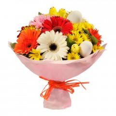 Karışık mevsim buketi Mevsimsel çiçek  Sakarya online çiçekçi , çiçek siparişi