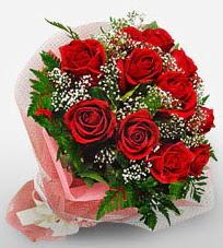 12 adet kırmızı güllerden kaliteli gül  Sakarya çiçek yolla , çiçek gönder , çiçekçi