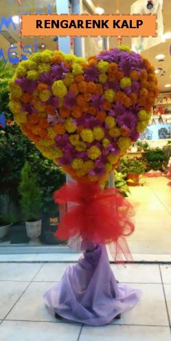 Ankara mevsim çiçeklerinden kalp perförje  Sakarya 14 şubat sevgililer günü çiçek