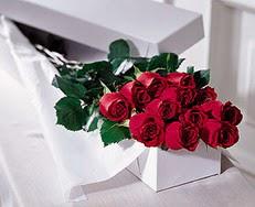 Sakarya anneler günü çiçek yolla  özel kutuda 12 adet gül
