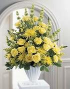 Sakarya kaliteli taze ve ucuz çiçekler  sari güllerden sebboy tanzim çiçek siparisi