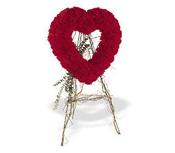Sakarya güvenli kaliteli hızlı çiçek  karanfillerden kalp pano