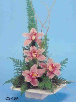 Sakarya 14 şubat sevgililer günü çiçek  vazoda 4 adet orkide