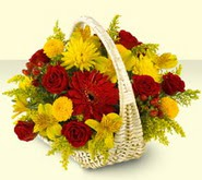 Sakarya çiçekçi telefonları  sepette mevsim çiçekleri