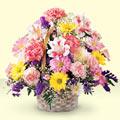 Sakarya çiçek gönderme  sepet içerisinde gül ve mevsim