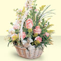 Sakarya çiçekçi telefonları  sepette pembe güller