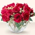 Sakarya ucuz çiçek gönder  mika yada cam içerisinde 10 gül - sevenler için ideal seçim -