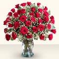 Sakarya yurtiçi ve yurtdışı çiçek siparişi  33 adet kirmizi gül cam yada mika vazoda