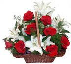 sepette gül ve kazablankalar   Sakarya çiçek mağazası , çiçekçi adresleri