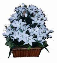 yapay karisik çiçek sepeti   Sakarya İnternetten çiçek siparişi