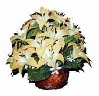 yapay karisik çiçek sepeti   Sakarya kaliteli taze ve ucuz çiçekler