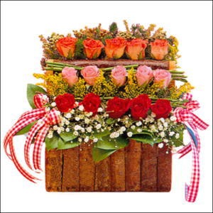 sandikta 3 kat güllerden   Sakarya çiçek yolla