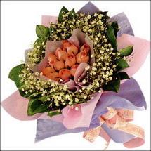 11  adet  gül ve   elyaflar   Sakarya çiçek mağazası , çiçekçi adresleri