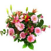 lilyum ve gerbera çiçekleri - çiçek seçimi -  Sakarya uluslararası çiçek gönderme