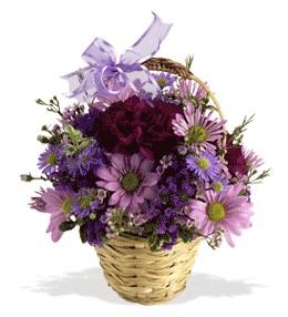 Sakarya çiçek gönderme  sepet içerisinde krizantem çiçekleri