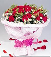 Sakarya güvenli kaliteli hızlı çiçek  12 ADET KIRMIZI GÜL BUKETI