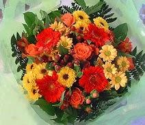 Sakarya çiçek online çiçek siparişi  sade hos orta boy karisik demet çiçek