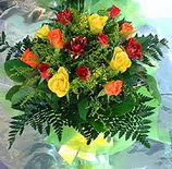13 adet karisik gül buketi demeti   Sakarya çiçek gönderme