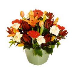 mevsim çiçeklerinden karma aranjman  Sakarya çiçek siparişi vermek