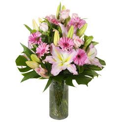 vazo içerisinde karisik mevsim çiçekleri  Sakarya online çiçekçi , çiçek siparişi