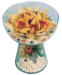 Sakarya kaliteli taze ve ucuz çiçekler  Cam içerisinde 4 adet kandil orkide
