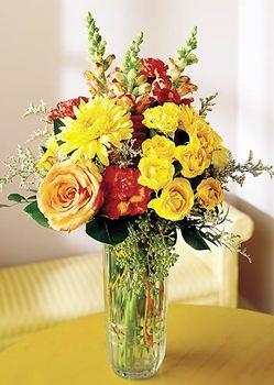 Sakarya çiçekçi telefonları  mika yada cam içerisinde karisik mevsim çiçekleri