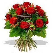 9 adet kirmizi gül ve kir çiçekleri  Sakarya güvenli kaliteli hızlı çiçek