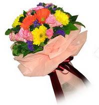 Sakarya çiçek mağazası , çiçekçi adresleri  Karisik mevsim çiçeklerinden demet