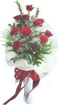 Sakarya çiçek servisi , çiçekçi adresleri  10 adet kirmizi gülden buket tanzimi özel anlara