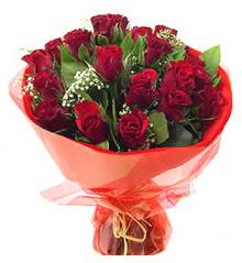 Sakarya çiçek satışı  11 adet kimizi gülün ihtisami buket modeli