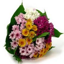 Sakarya 14 şubat sevgililer günü çiçek  Karisik kir çiçekleri demeti herkeze
