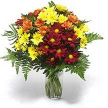 Sakarya kaliteli taze ve ucuz çiçekler  Karisik çiçeklerden mevsim vazosu