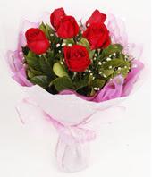 9 adet kaliteli görsel kirmizi gül  Sakarya uluslararası çiçek gönderme