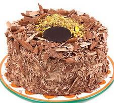 çikolatali 4 ile 6 kisilik yas pasta  Sakarya hediye çiçek yolla