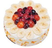 Meyvali 4 ile 6 kisilik yas pasta leziz  Sakarya çiçek online çiçek siparişi