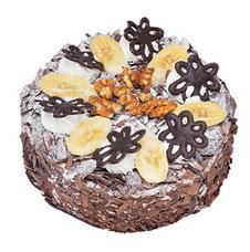 Muzlu çikolatali yas pasta 4 ile 6 kisilik   Sakarya çiçek gönderme