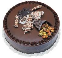 Çikolatali yas pasta 4 ile 6 kisilik  leziz  Sakarya çiçekçi mağazası