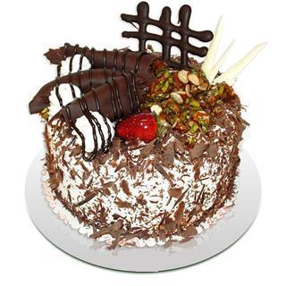 4 ile 6 kisilik çikolatali yas pasta  Sakarya çiçek siparişi sitesi