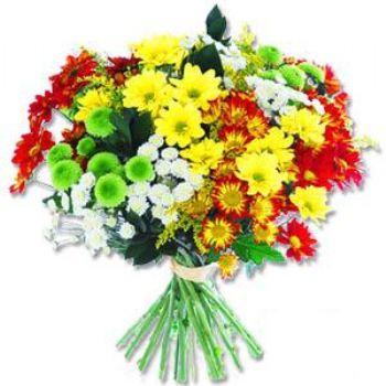 Kir çiçeklerinden buket modeli  Sakarya İnternetten çiçek siparişi