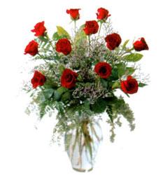Vazo içerisinde 11 kirmizi gül  Sakarya çiçek yolla , çiçek gönder , çiçekçi