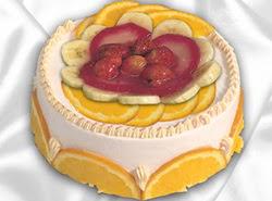leziz pastane 4 ile 6 kisilik yas pasta meyvali yaspasta  Sakarya çiçek siparişi sitesi