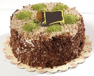 pasta gönderme 4 ile 6 kisilik çikolatali yas pasta  Sakarya anneler günü çiçek yolla