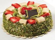 pasta gönder  4 ile 6 kisilik karisik meyvali yas pasta  Sakarya online çiçekçi , çiçek siparişi