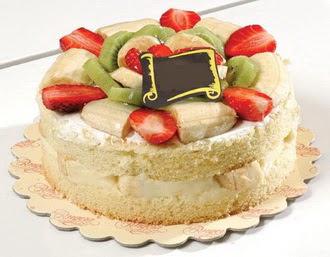 pasta siparisi 4 ile 6 kisilik karisik meyvali yas pasta  Sakarya hediye çiçek yolla