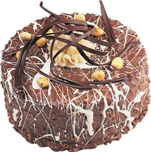 pasta satisi 4 ile 6 kisilik çikolatali yas pasta  Sakarya online çiçek gönderme sipariş