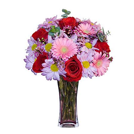Görsel hediye karisik cam mevsim demeti  Sakarya çiçek mağazası , çiçekçi adresleri