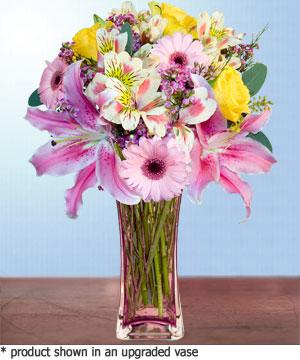 Anneme hediye karisik cam mevsim demeti  Sakarya online çiçekçi , çiçek siparişi