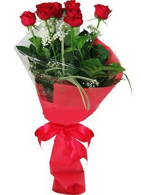 7 adet kirmizi gül buketi  Sakarya çiçek siparişi vermek